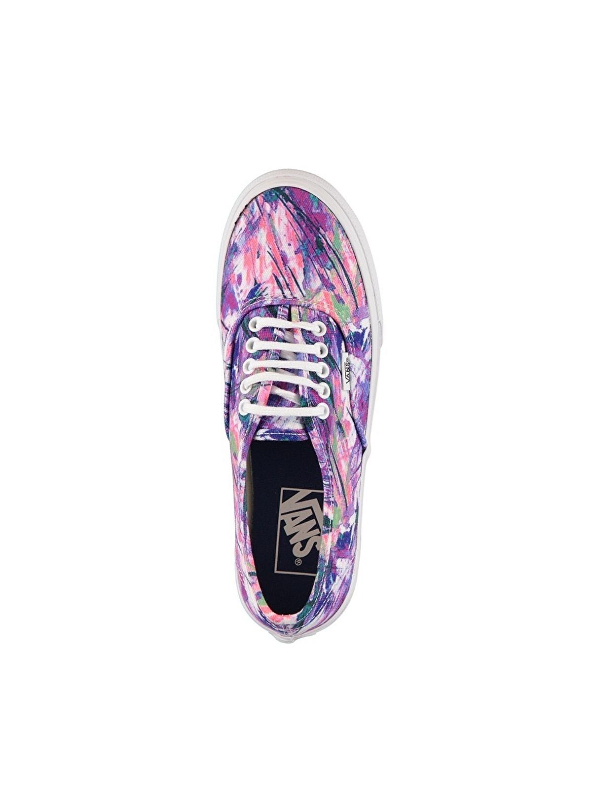 6ad20ca940 Vans Kadın Authentic Slim (Multi Paint) Purple